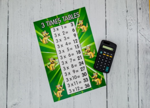 Identifying patterns in times tables 1 to 20